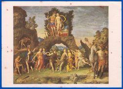 LES GRANDS PEINTRES LOTERIE NATIONALE PEINTURE ITALIENNE ANDREA MANTEGNA LE PARNASSE N°7/10 SERIE H -NOTRE SITE Serbon63 - Cartes