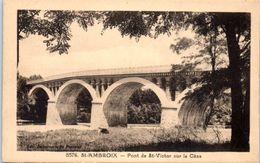 30 - SAINT AMBROIX -- Vieux Pont De St Victor Sur La Cèze - Saint-Ambroix