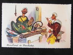 ILLUSTRATEUR P NERI Marchand De Brochettes CP Colorée LAPEROUSE CASABLANCA MAROC - Illustrateurs & Photographes