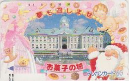 JAPAN - FREECARDS - 290-0380 - FRONTBAR - BARCODE - SANTA CLAUS - Japan