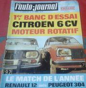 L'Auto Journal N°494 18 Décembre 1969 Cascadeur Jean SUNNY, Essai Citroën M35  BMW 2800, Moto Essai Honda 750 - Auto/Motor