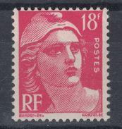 MARIANNE De GANDON N° 887 NEUF ** LUXE (COTE 20€) / TIMBRE À 18f ROSE CARMINÉ - 1945-54 Marianne De Gandon