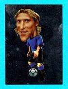 DIEGO FORLAN ( Atletico Madrid FC ) 2010 World FootballStars STICKER - MINT UNUSED * Manchester United FC Inter Uruguay - Trading Cards