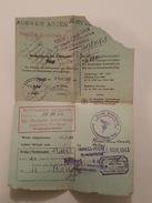 1943 - Troyes Ouest - Cachet Nazi - Ausweis Abgen - Urlaubsschein - Etienne Cheniet, Chalons Sur Marne - Documents