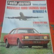 L'Auto Journal N°2 28 Janvier 1971 Essai Renault 4 L,Mini 1000 Anglaise Autobianchi A112, Morzine Avoriaz Les Gets - Auto/Moto