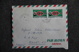 Lettre De MADAGASCAR ( TAMATAVE) Vers FRANCE (63) - Madagaskar (1960-...)