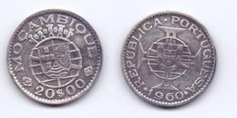 Mozambique 20 Escudos 1960 - Mozambique