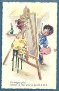 CP - ENFANTS - FILLETTE A LA POSE - Illustrateurs & Photographes