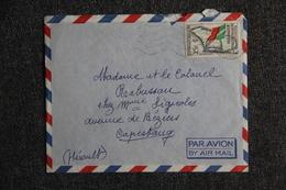 Lettre De MADAGASCAR ( TAMATAVE) Vers FRANCE (34), CAPESTANG - Madagaskar (1960-...)