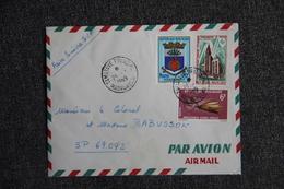 Lettre De MADAGASCAR ( TAMATAVE) Vers Secteur Postal 69.092 - Madagaskar (1960-...)
