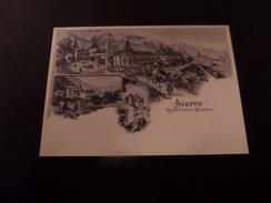 Sierre, Hôtel Château Bellevue - 2011 - Stamped Stationery
