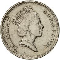 Grande-Bretagne, Elizabeth II, 5 Pence, 1992, TTB, Copper-nickel, KM:937b - 1971-… : Monnaies Décimales