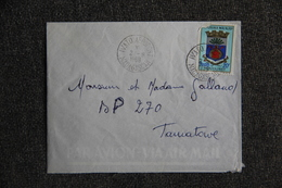Lettre De MADAGASCAR ( IVATO AEROPORT) Vers TAMATAVE - Madagascar (1960-...)