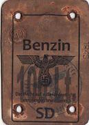 Token On Gasoline III Reich. Nazi Germany - Dokumente