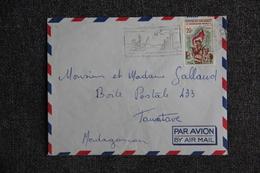 Lettre De MADAGASCAR ( TANANARIVE) Vers TAMATAVE - Madagaskar (1960-...)