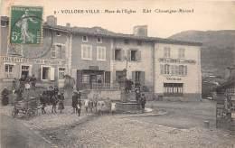 63 - PUY DE DOME / 631106 - Vollore Ville - Place De L'église - Other Municipalities