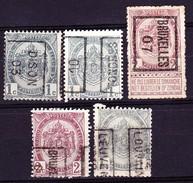 Belgien 1893/94 - 1893-1907 Armarios