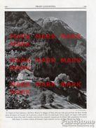 Canton Ticino - Fotoincisione VEDUTA DI PRATO LEVENTINA E DEL PIZZO MASSARI - OTTIMA - Prints & Engravings
