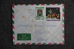 Lettre De MADAGASCAR ( TAMATAVE)  Vers FRANCE (34 - CERS) - Madagaskar (1960-...)