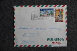 Lettre De MADAGASCAR ( TAMATAVE)  Vers FRANCE (34 - CERS) - Madagascar (1960-...)