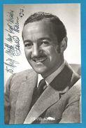 (A879) - Signature / Dédicace / Autographe Original - David NIVEN - Acteur Anglais - Autographes