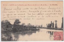 Lays Sur Le Doubs Par Pierre De Bresse - Le Moulin - France