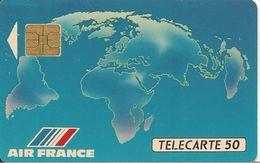 CARTE°-PUBLIC-F-138-01/911- GEM-AIR FRANCE 1-V° N° A 0C958-UTILISE-TBE - France
