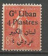 GRAND LIBAN N° 35 NEUF* CHARNIERE TB / MH - Neufs