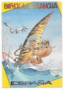 Illustrateur John Lodi - BIFTECK A LA PLANCHA - ESPAÑA MALLORCA - Editions SUNNY POST N° ME. 584/2 - Other Illustrators