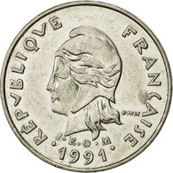 French Polynesia, 10 Francs, 1991, Paris, TTB+, Nickel, KM:8 - French Polynesia