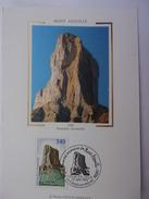 FRANCE CARTE MAXIMUM 1992 YVERT 2762 MONT AIGUILLE - Maximumkaarten