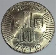 EURO 50 CENT. FDC PRECURSORE IN USO A FIESOLE E PONTASSIEVE NEL 1997-98 - Essays & New Minting