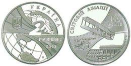 Ukraine - 2 Hryvni 2003 AUNC+ 100 Years Of World Aviation Lemberg-Zp - Ukraine