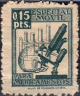 SELLO 15 CÉNTIMOS ESPECIAL MÓVIL PARA MEDICAMENTOS - Revenue Stamps