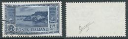 1932 REGNO USATO GARIBALDI 1,75 LIRE FIRMATO BIONDI - R43-6 - Usati