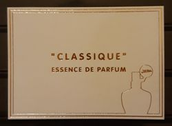 TARJETA PERFUMADA JEAN PAUL GAULTIER - CLASSIQUE. - Cartas Perfumadas