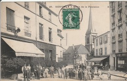 CPA  : GENTILLY  Place De La Fontaine - Gentilly