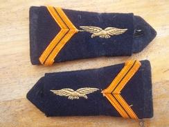 Paire De Pattes D'épaule Sergent Aviation - France