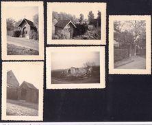 SINT MARTENS BODEGEM - 5 OUDE FOTOOTJES AL OF NIET VERDWENEN KAPELLETJES IN SINT MARTENS BODEGEM - Dilbeek