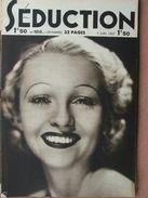 Séduction N°188 (5 Juin 1937) Femmes Nues - L'école De La Séduction - Boeken, Tijdschriften, Stripverhalen