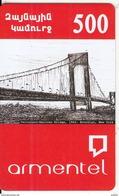 ARMENIA - Verrazano-Narrows Bridge(1964)/Brooklyn-New York, ArmenTel Prepaid Card 500 AMD, Sample - Armenië