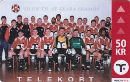 Faroe Islands, OP-001, B68 Football Team, Sport, Only 3.000 Issued, 2 Scans. - Faroe Islands