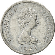 Seychelles, Cent, 1972, British Royal Mint, TTB+, Aluminium, KM:17 - Seychelles