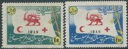 PERSIA PERSE PERSIEN IRAN 1959 - 100th Anniv Of Red Cross- MNH - Scott 1132A/1132B - Value $12.00 - Iran