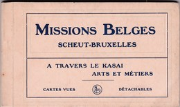 Belgisch Congo - Missions Belges Scheut Bruxelles - A Travers Le Kasai - Arts Et Métiers - 13 Cartes Vues Détachables - Belgisch-Kongo - Sonstige