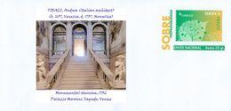 SPAIN, Architecture, TIRALI, Andrea (Italian Architect), Monumental Staircase, 1732 Palazzo Morosini Sagredo, Venice - Chiese E Cattedrali