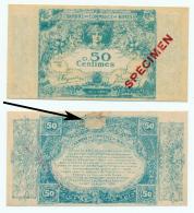 1915 // C.D.C. // NIMES // 50 Centimes // SPECIMEN - Chambre De Commerce