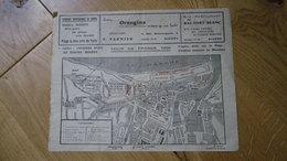 TOUR DE FRANCE 1965 Carte étape LE HAVRE - DIEPPE Contre La Montre 7 Juillet - Seine Maritime - Normandie - Programmes