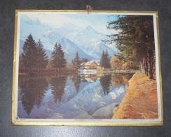 1971 ALMANACH CALENDRIER DES P.T.T, PTT, POSTE, MONT BLANC ET LAC DES GAILLANDES, OBERTHUR, ARDENNES 08 - Calendars