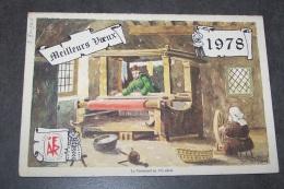 CALENDRIER 1978 L'AIDE FAMILIALE RURALE - Calendars